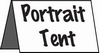 Portrait Tent Stock