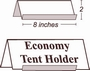 CLEARANCE - Economy Tent Holders
