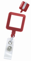 Badge Reel - Square, Solid Color